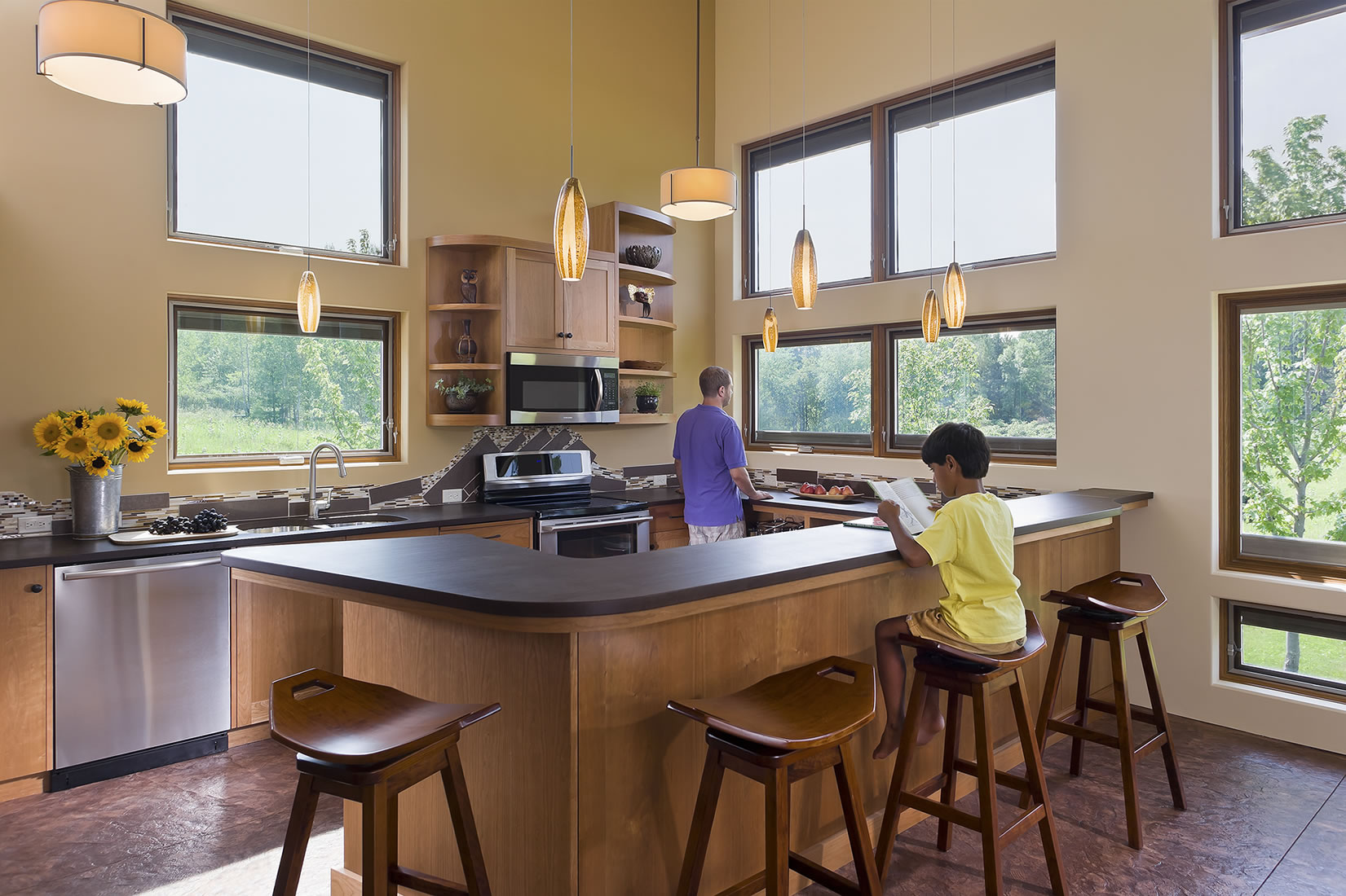 surprising kitchen lots windows   Andrea Rugg Photography   Recent Photography Work