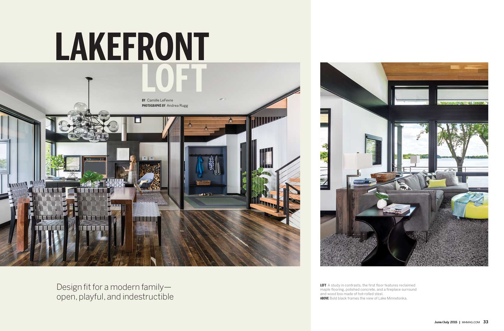 Andrea Rugg Photography | Midwest Home - Lakeside Living 2 - Andrea ...